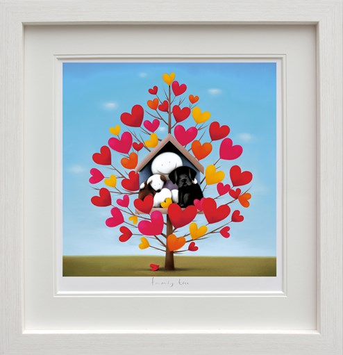 Family Tree by Doug Hyde - Framed Limited Edition on Paper